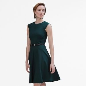 MM lafleur toi dress in viridian size 6